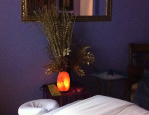Just the Essentials Massage Room