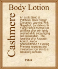 Cashmere Body Lotion made by JTE