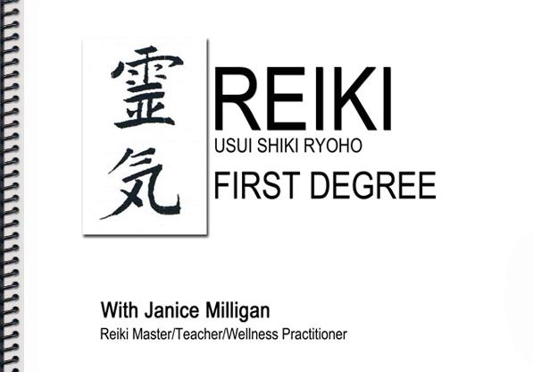 Reiki Level 1 - November 5, 2017