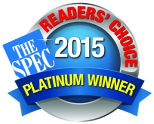 2015 Readers Choice Platinum Award Winner